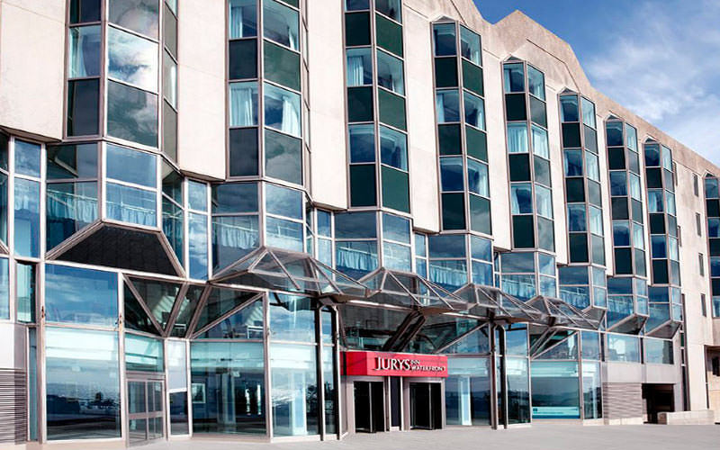 Exterior of the Jurys Inn Waterfront, Brighton, during the day