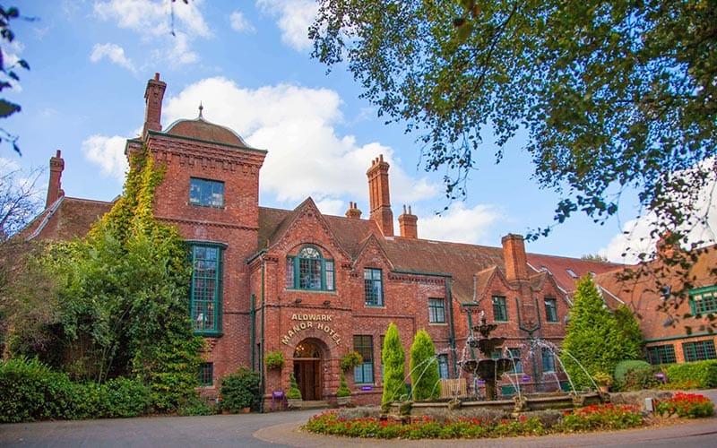 Exterior of Aldwark Manor Golf & Spa