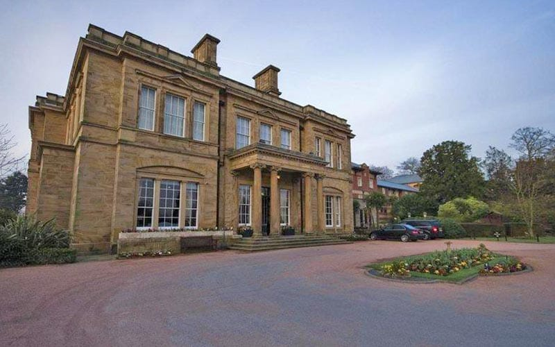 Drive and exterior of Oulton Hall