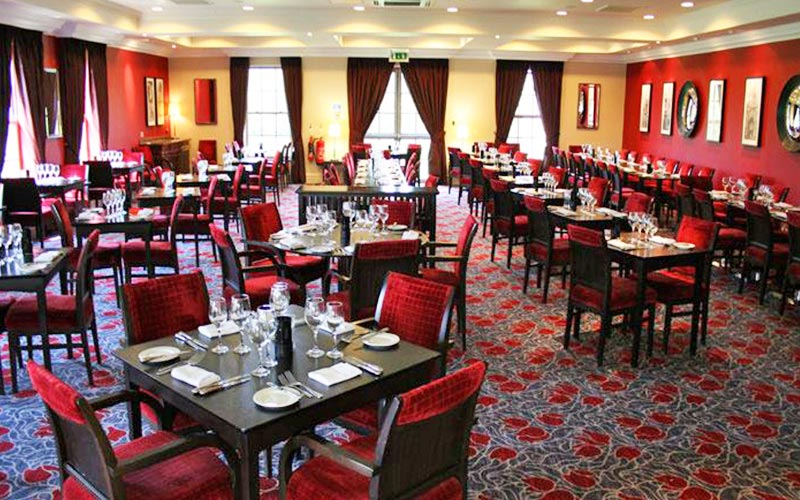 A large function room in The Cambridge Belfry