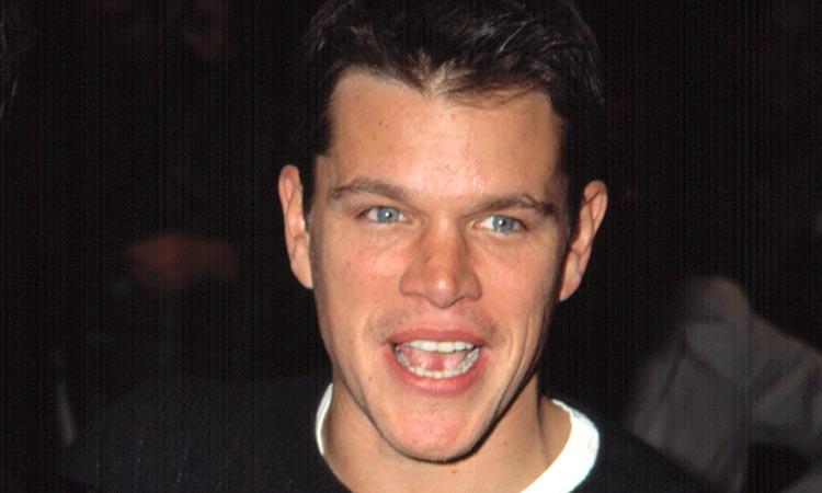 An image of Matt Damon