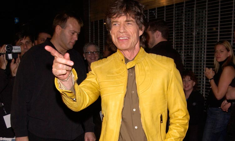 An image of Mick Jagger