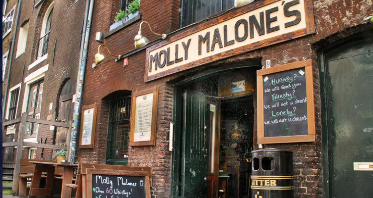 Exterior of Molly Malone's