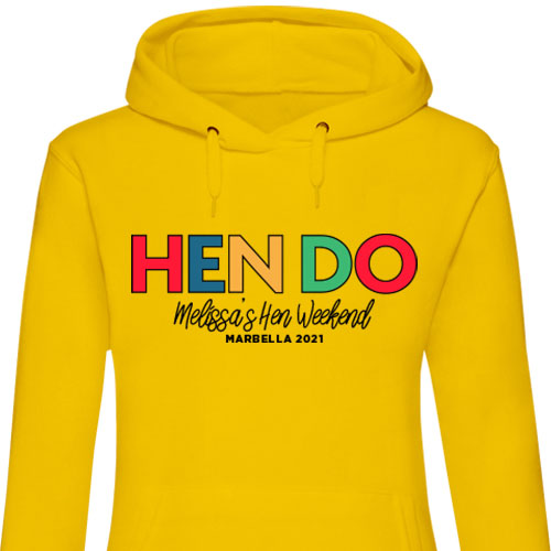 Hen Do Hen Hoodies