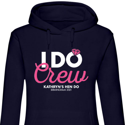I Do Crew Chunky Hen Hoodies