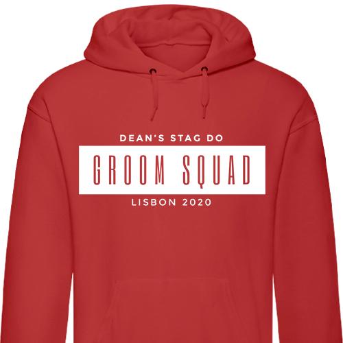 Groom Squad Stag Hoodies
