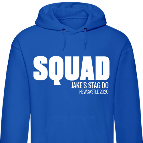Bold Squad Stag Hoodies
