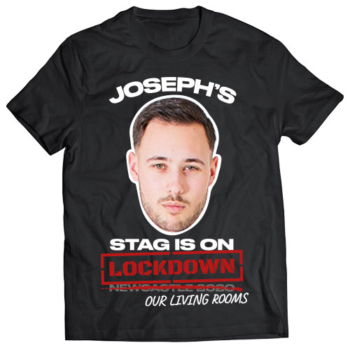 Stag on Lockdown Photo Print