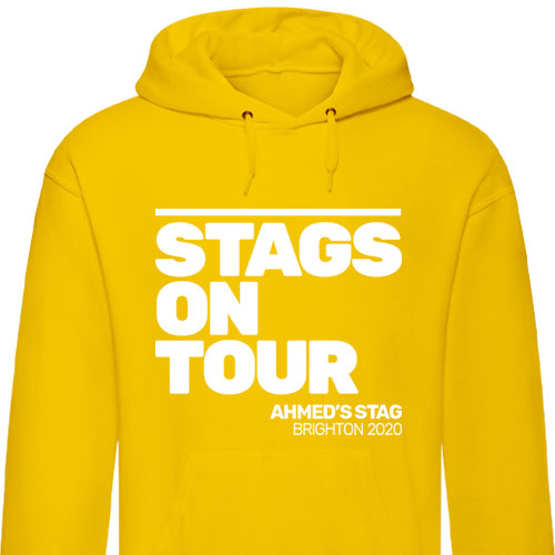 Stags on Tour Stag Hoodies