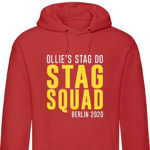 Stag Squad Stag Hoodies