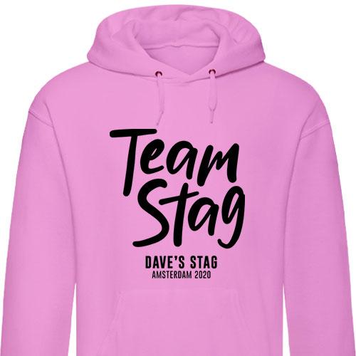 Team Stag Stag Hoodies