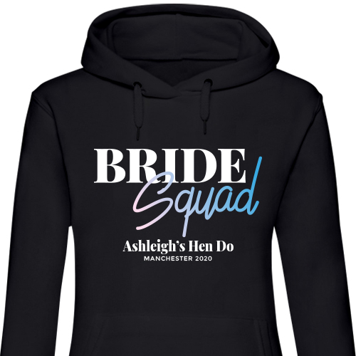 Bride Squad Hen Hoodies