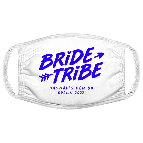 Bride Tribe Hen Do Facemask