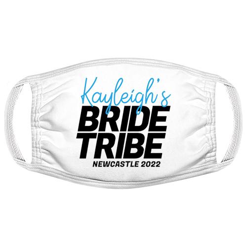 Bride Tribe Neon Hen Do Facemask