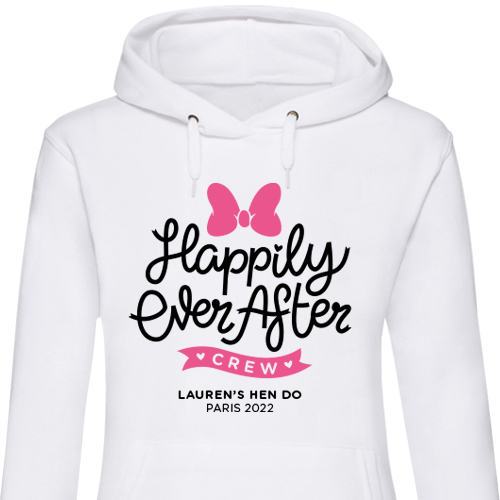Happily Ever After Crew Hen Hoodies