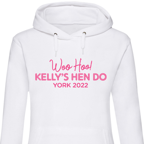 Woo Hoo Hen Do Hen Hoodies