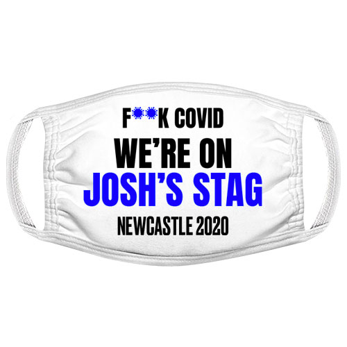 F**k Covid Stag Do Facemask