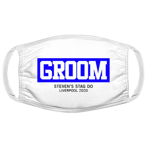 The Groom Box Stag Do Facemask