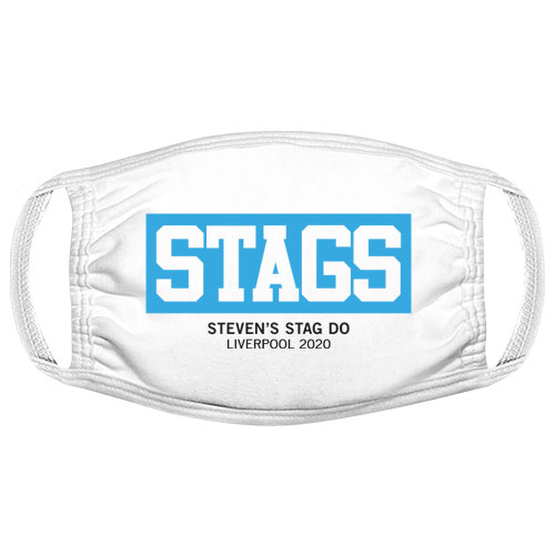 The Stags Box Stag Do Facemask
