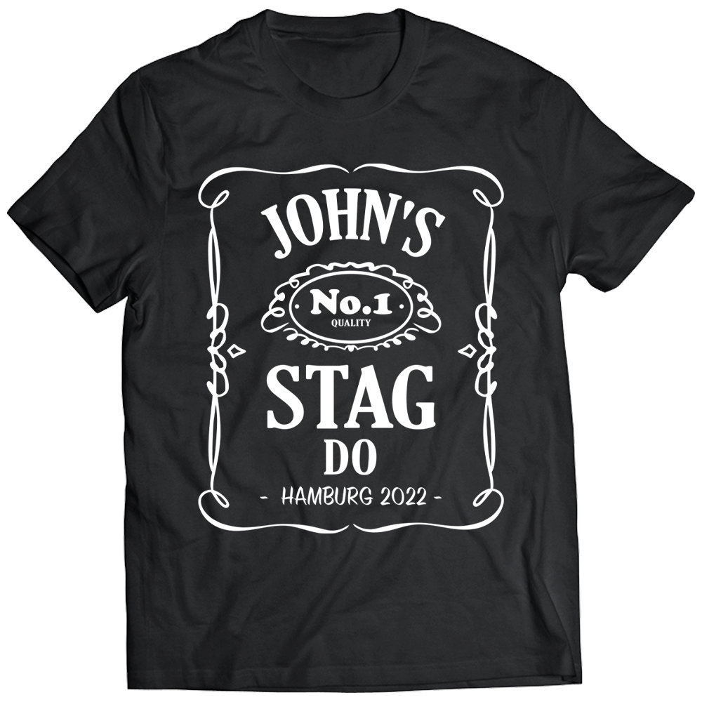 Dack Janiels Stag Do T-Shirt - front view