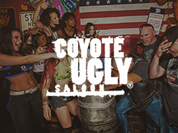 Severn Heaven - Coyote Ugly - Deluxe Drinks Table