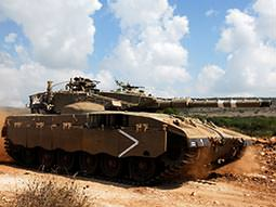 Image of a army tank