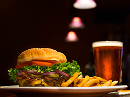 Game for a Laugh - Walkabout - Beer & Burger Meal
