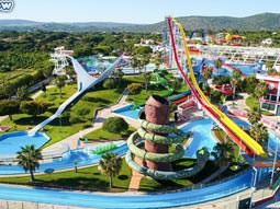 Image of the view of the aquashow waterpark