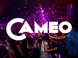 The interiors of Cameo club, with a foam party on