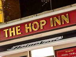 The exterior of The Hop Inn, Bournemouth