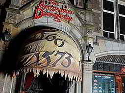 The exterior of The Amsterdam Dungeons