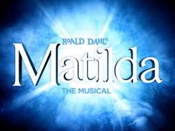 Roald Dahls Matilda the musical logo
