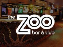 Metallic bar at Zoo club