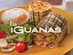 Latino Ladies - Las Iguanas - 2 Course Meal & Welcome Drink