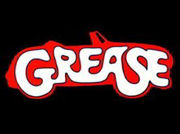The Grease car logo against a black background