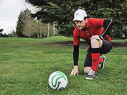 A Game of Two Halves - Footgolf
