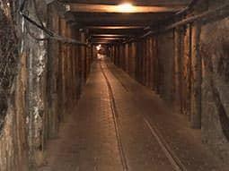 An empty salt mine