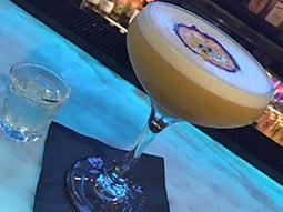 A pornstar martini on the bar