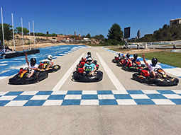 Red Light Racing - Outdoor Karting - Mini Grand Prix with BBQ & Beers