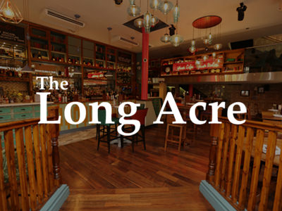 The Long Acre - Guestlist Entry -