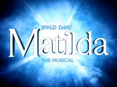 Roald Dahl's Matilda the musical logo