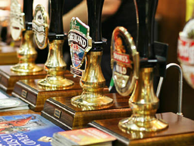 Beer and real ale pumps