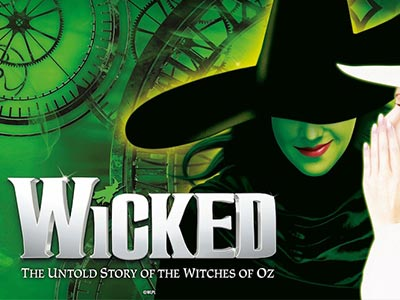 Wicked the Musical theatre production logo