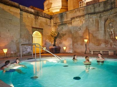 Bath Thermae Bath Spa - Cross Bath Exclusive Hire - Weekend