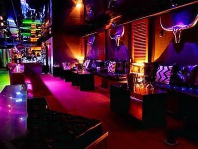 Empty interior of Club de Mar