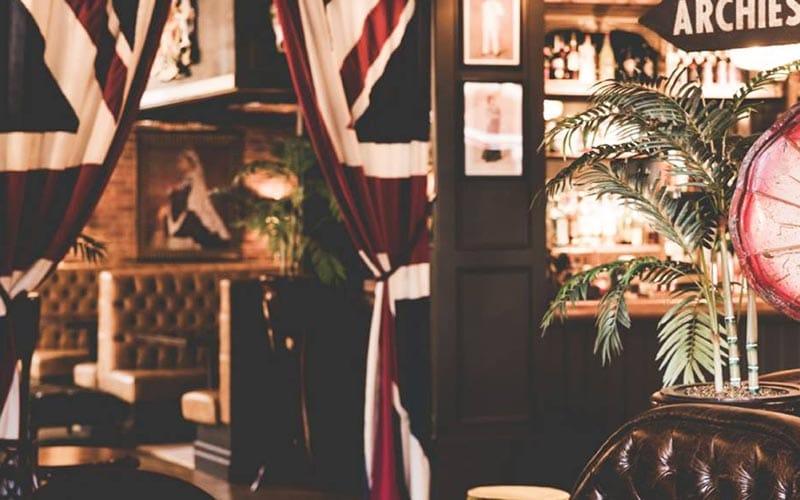 The interiors of Colonel Porter's