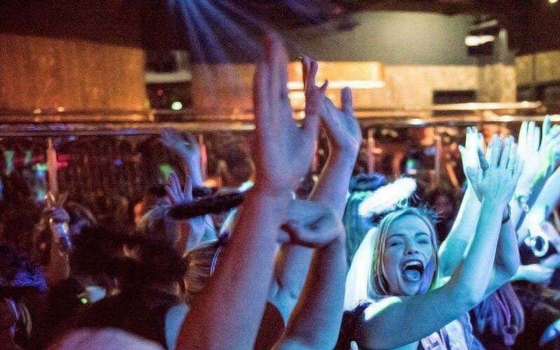 Some women going wild in a Pleasureladies audience