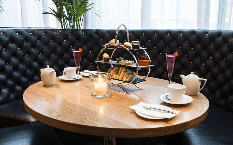 A table of afternoon tea