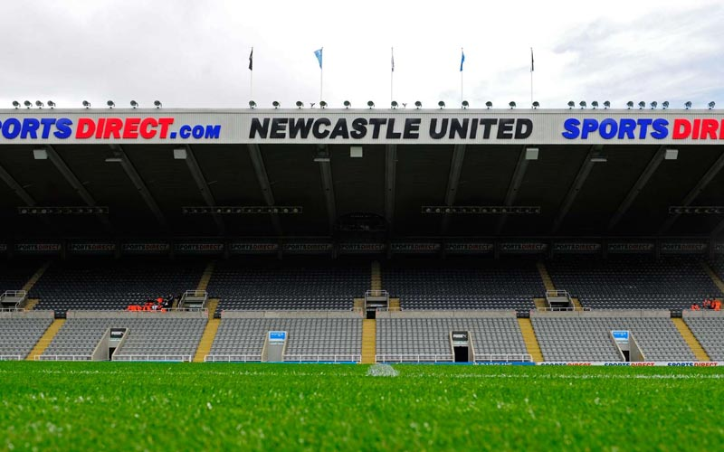A view of Newcastle Stadium
