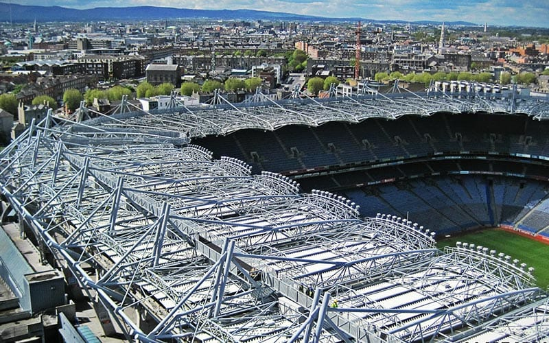 The top of Croke Park, taken from a picturesque angle